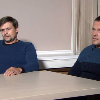 Руслан Боширов и Александр Петров