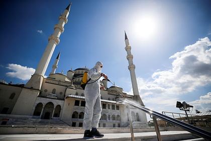 В Турции сообщили о новом максимуме смертей пациентов с COVID-19