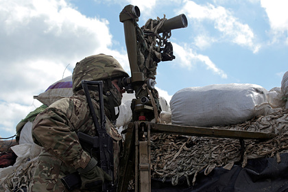 Вооруженные силы Украины вновь обстреляли Горловку и Донецк из минометов