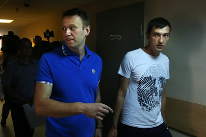 Алексей и Олег Навальные в 2014