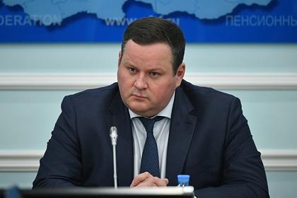 Глава Минтруда Антон Котяков