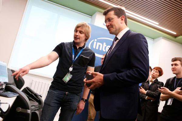 Открытие второго офиса Intel в Нижнем Новгороде