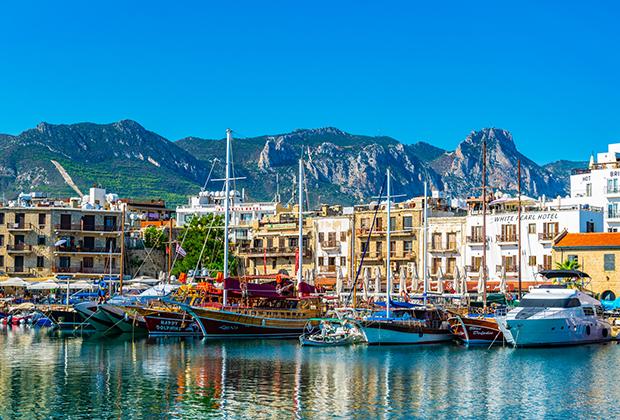 Порт в Кирении