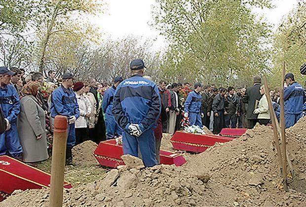 Похороны погибших школьников в Красноярске