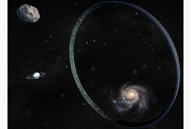 Мир-Кольцо — еще одно гипотетическое астроинженерное сооружение