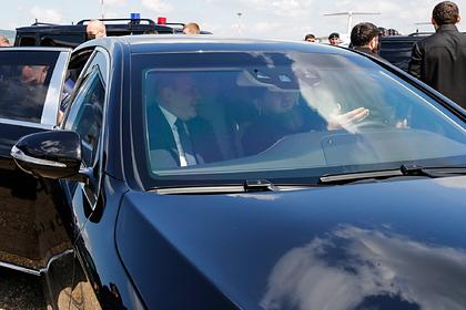 Кадыров прокатил Мишустина на Mercedes