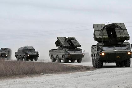 Украина начала учения на границе с Крымом