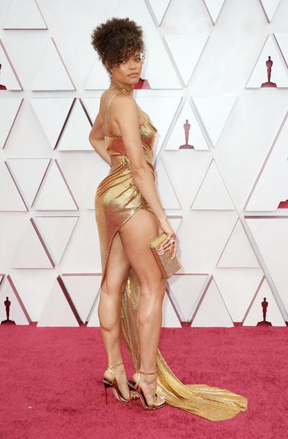 36-летняя Андра Дей («Маршалл») дебютировала в 2021-м как ведущая артистка в биографической драме  Ли Дэниелса «Соединенные Штаты против Билли Холидей» — за роль в фильме об именитой певице ее представили в категории «Лучшая актриса».