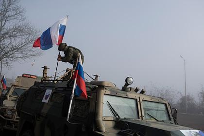 Автомобиль с российскими миротворцами подорвался в Нагорном Карабахе