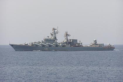Ракетный крейсер «Москва» проведет стрельбы в Черном море