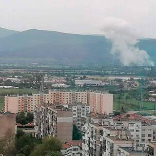 Взрыв на оружейном заводе «Арсенал» в районе города Казанлык