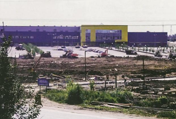 """2000 Строительство торгового центра """"ИКЕА"""""""