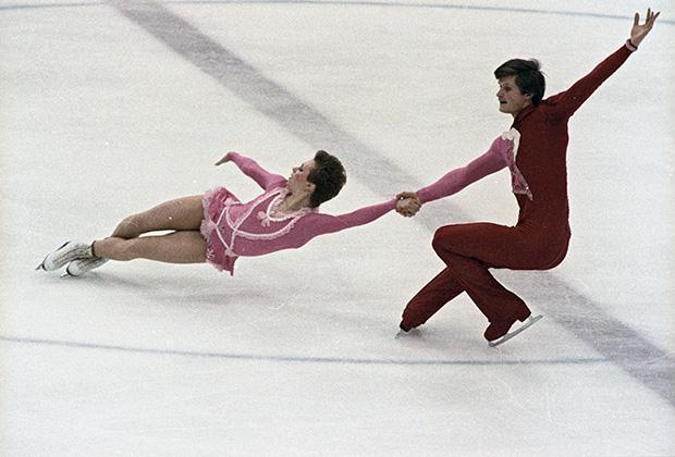 Лариса Селезнева и Олег Макаров