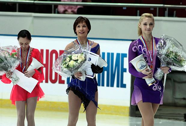 Слева направо: Елизавета Туктамышева, Алена Леонова, Ксения Макарова