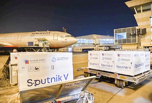 Первая партия вакцины Sputnik V от COVID-19 прибыла в Узбекистан
