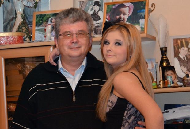 Роберт Теслюк с дочерью Викторией
