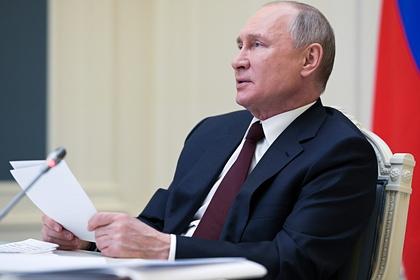 Путин присвоил звание Героя Труда пятерым россиянам