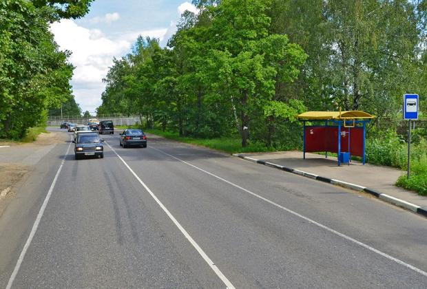 Автобусная остановка «Подстанция»