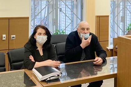 Свидетель Ливан Бадасян в Пресненском суде города Москвы