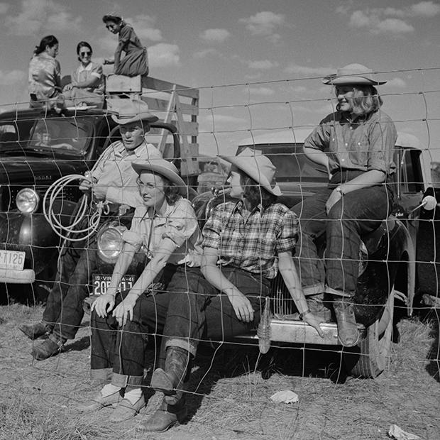Работницы ранчо в штате Монтана (США), 1941 год