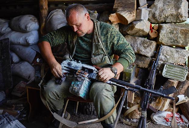 Боец батальона «Призрак»