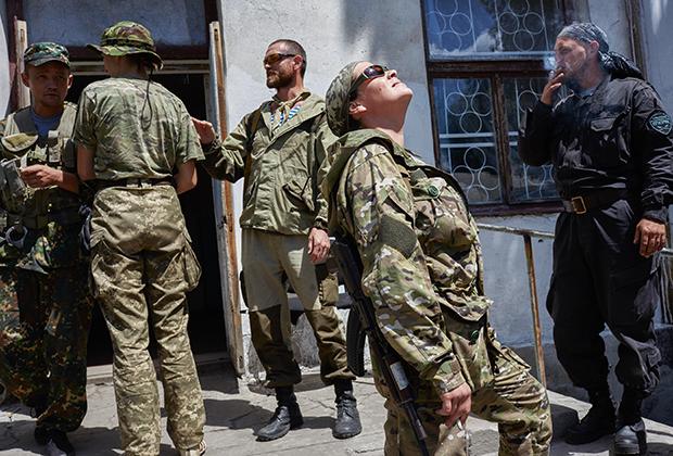 Бойцы батальона «Призрак»