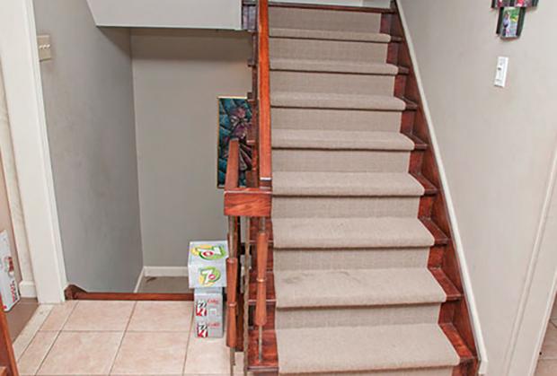 Лестница в доме Харрисонов