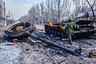 Ополченец Донецкой народной республики в окрестностях Дебальцева