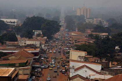 Банги, столица и крупнейший город Центральноафриканской Республики