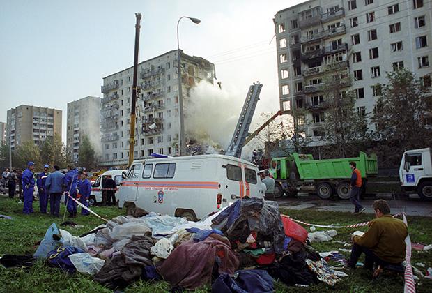 Террористический акт на улице Гурьянова, 1999 год