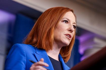 Джен Псаки рассказала о планах уйти с поста пресс-секретаря Белого дома