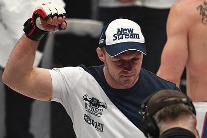 Боец MMA Шлеменко одержал 60-ю победу в карьере