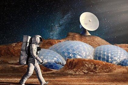 Ученые и архитекторы представили проекты жилищ на Марсе