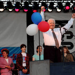 Борис Ельцин, 1996 год