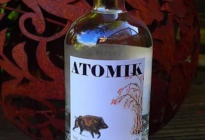На Украине конфисковали ехавшую в Великобританию водку из чернобыльских яблок