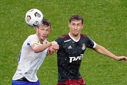 «Локомотив» в большинстве сыграл вничью с «Динамо» в московском дерби