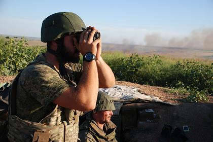 Двое украинских военных погибли и семеро пострадали при пожаре в Донбассе