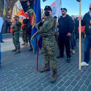Марш в честь дивизии СС «Галичина» в Киеве, апрель 2021-го
