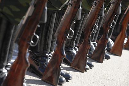 В России прошел первый парад Победы