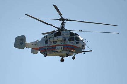 На месте крушения вертолета на Камчатке обнаружены тела погибших