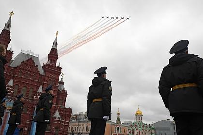 Завершилась воздушная часть парада Победы