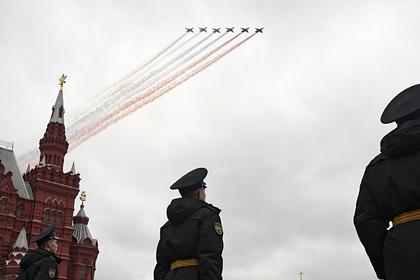 Все участники парада Победы в Москве оказались привитыми от коронавируса