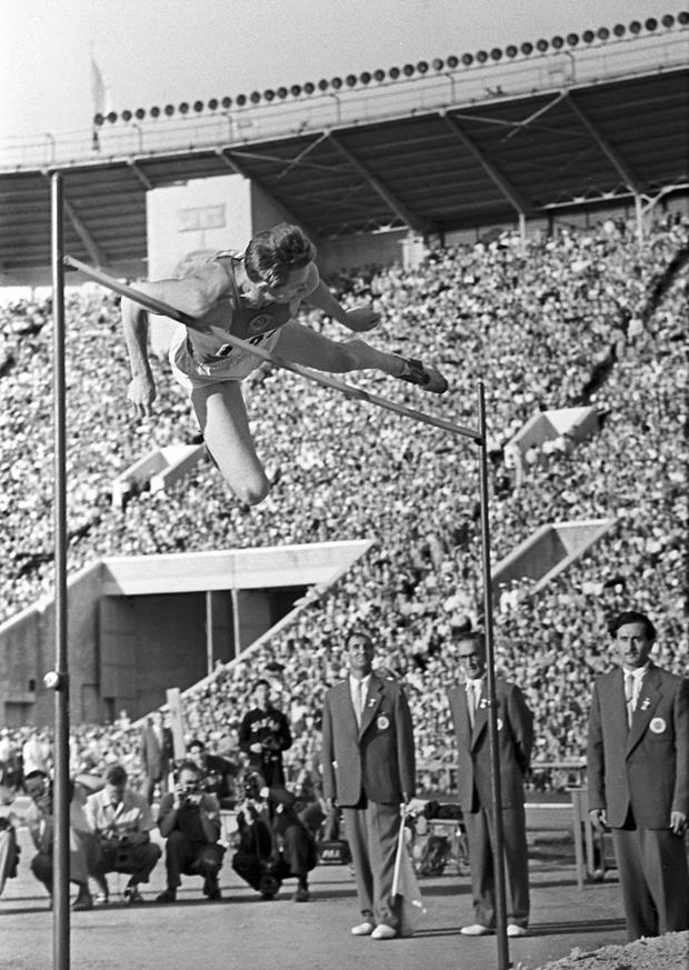 13 июля 1957 года во время легкоатлетического матча Ленинград — Хельсинки