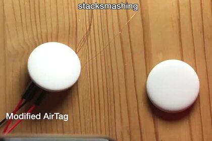 Беспроводной маячок Apple AirTag впервые взломали