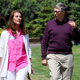 Мелинда и Билл Гейтс