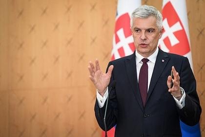 МИД Словакии призвал остановить «негативную спираль» развития отношений с Россией