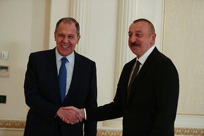 Сергей Лавров и Ильхам Алиев