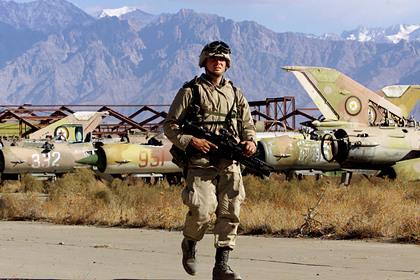 Американские военные уничтожат часть техники при выходе из Афганистана