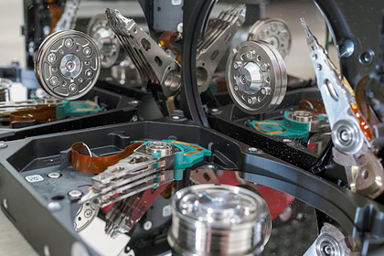 В России резко подорожали жесткие диски