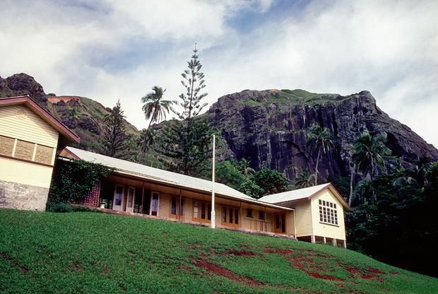 Остров Питкэрн, школа, 1987 год